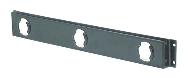 Leuchtenleistenklammer für runde 2″- und 2 1/2″-Leuchten, Schwarz