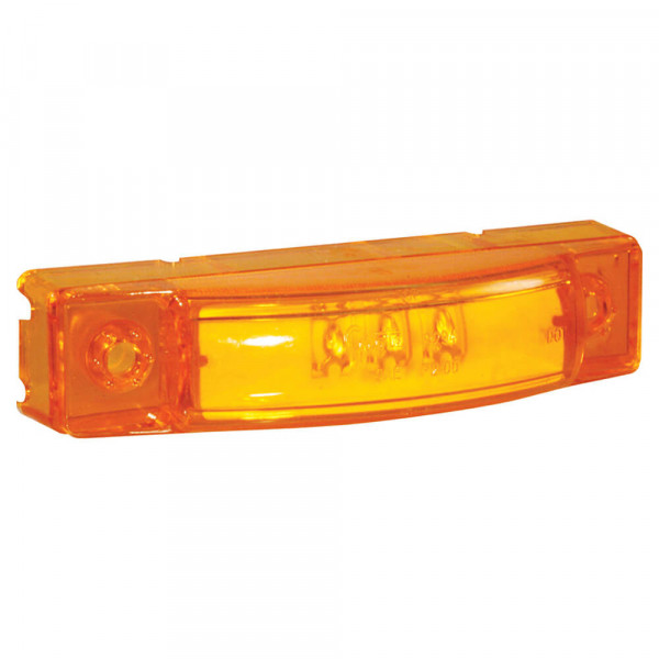 supernova 3 center thin line dual intensity led clearance marker light yellow