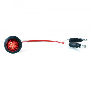 Micronova® Dot Red LED Clearance Marker Light With Grommet.