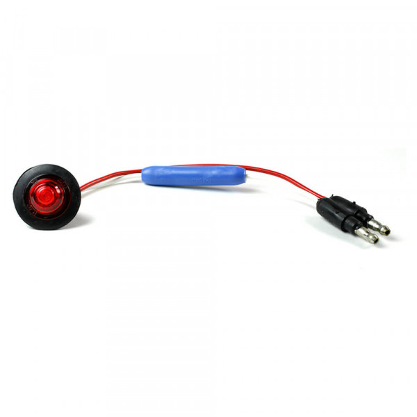 MicroNova® Dot Red 24 Volt LED Clearance Marker Light With Grommet.