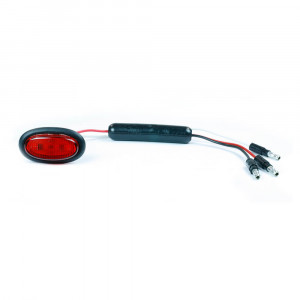 slim line dual intensity micronova led clearance marker light