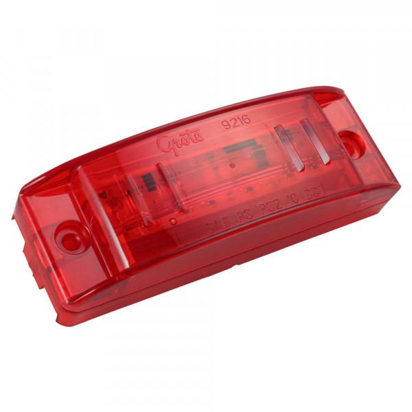 49392 Rote LED-Umriss-/Markierungsleuchte mit optischer Linse