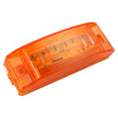 supernova sealed turtleback ii led clearance marker light abs male