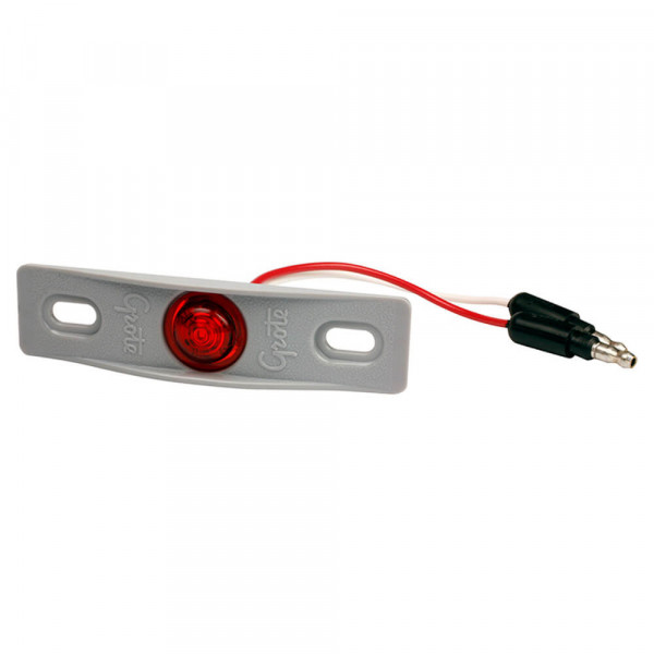 micronova dot led clearance marker light adaptor bracket red