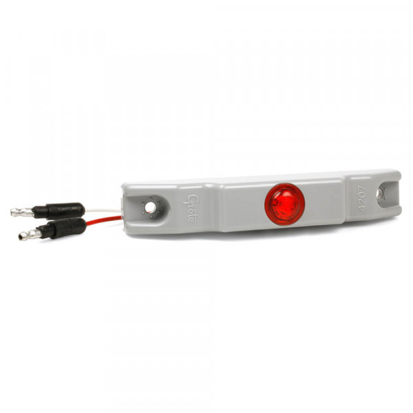 Red LED Clearance Marker Light with Bracket
