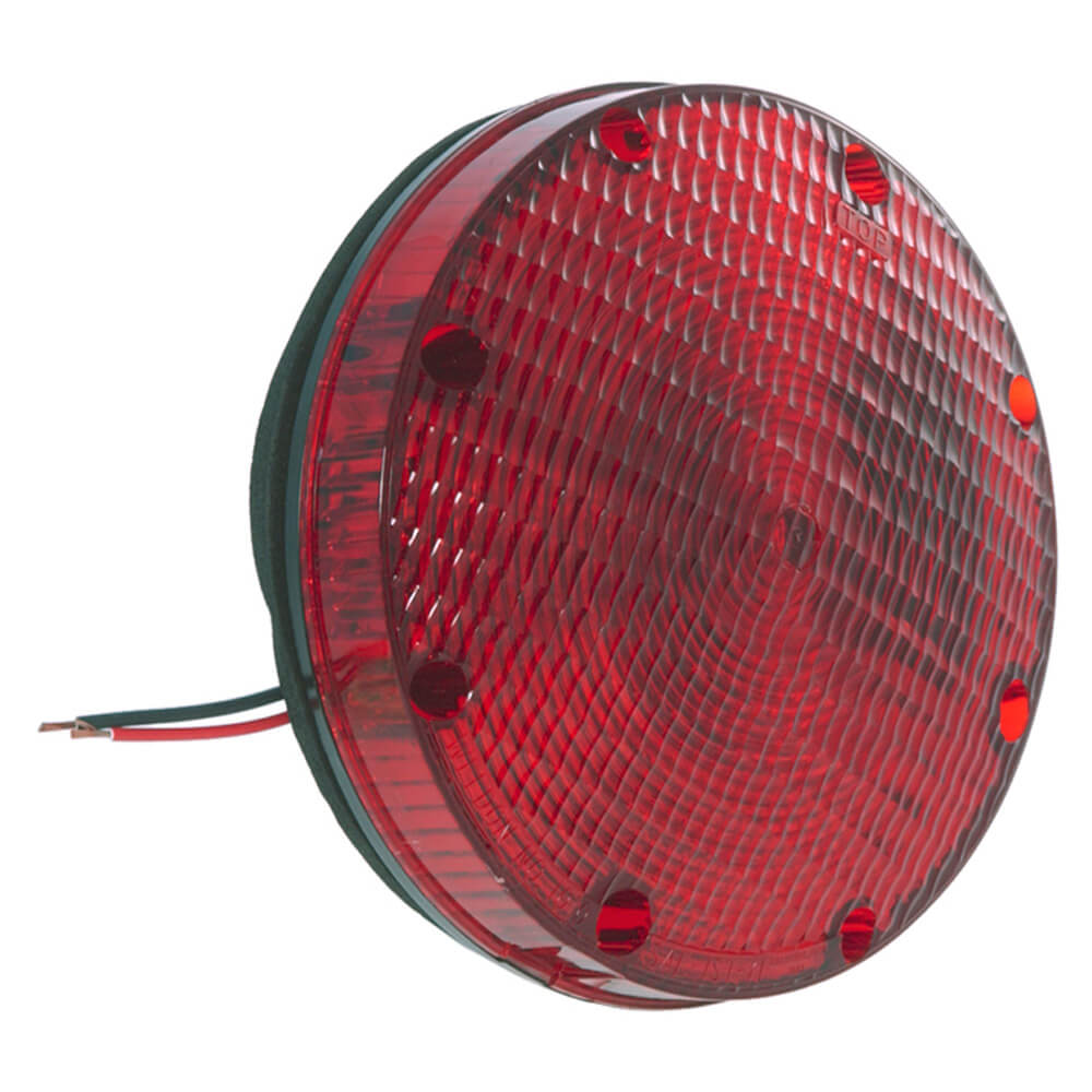7 school bus light double contact red