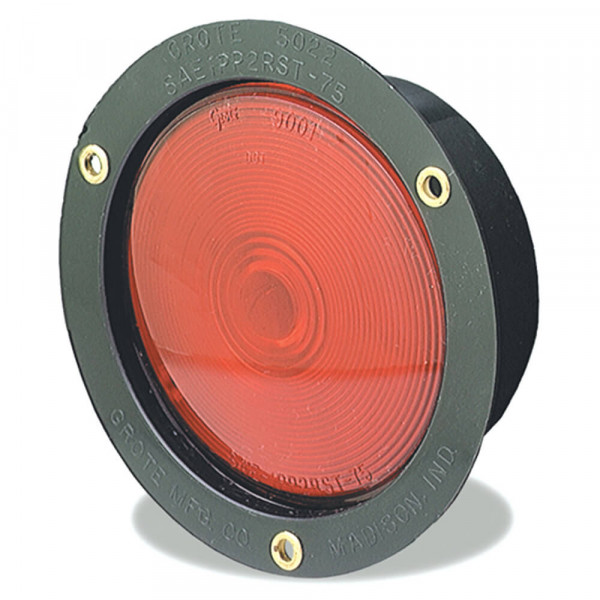 plastic housing light double contact red