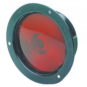 economy steel light double contact red