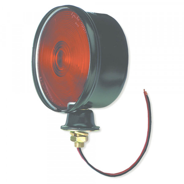 steel single face light double contact red