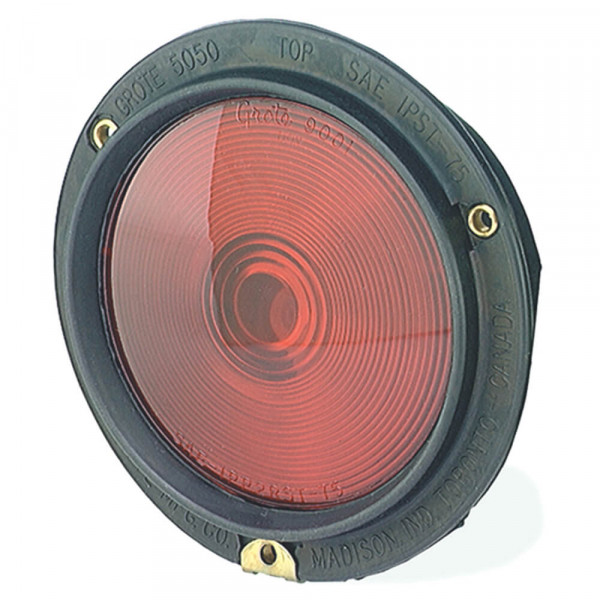 rubber housing light double contact red