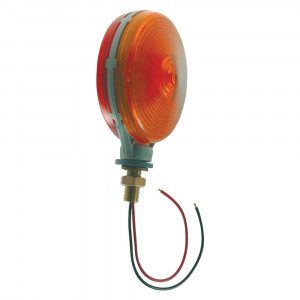 thin line double face light double contact red yellow