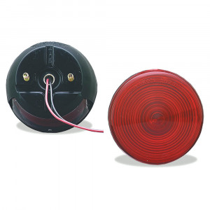 4 two stud stop tail turn light license window red