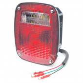torsion mount two stud mack dodge stop tail turn light red thumbnail