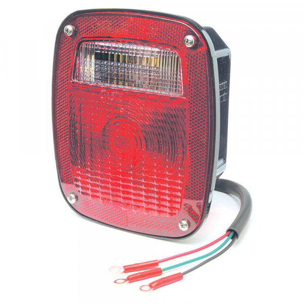torsion mount two stud mack dodge stop tail turn light red