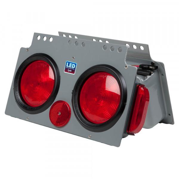 Módulo de energía LED de frenado/trasera/direccional con marcadora lateral