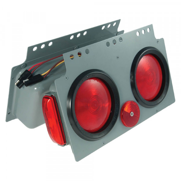 "stop tail turn 4"" light power module lh"