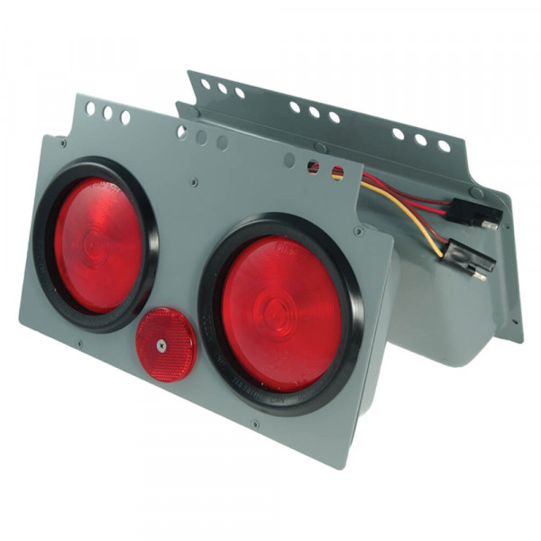 "stop tail turn 4"" power module red light"