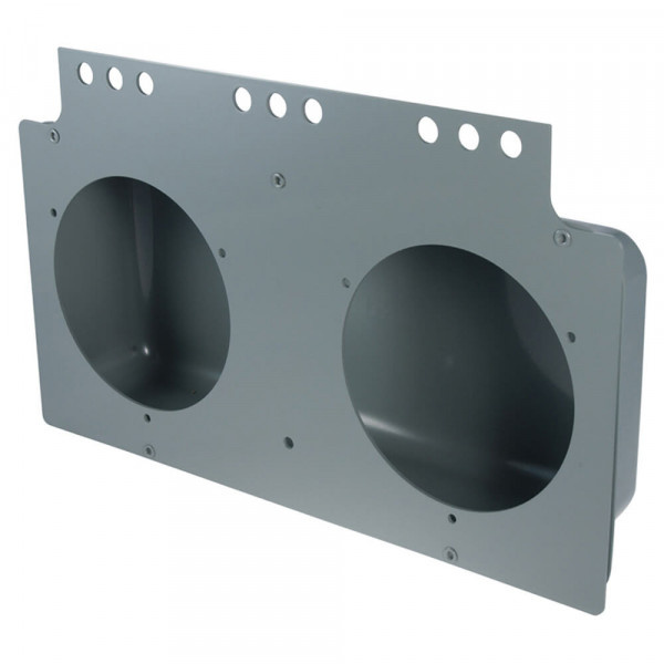 "Mounting Module For 4"" Round Lights, Gray"