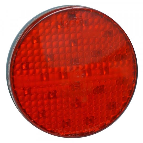 """SuperNova® 4"""" LED-Bremslichter/Schlussleuchten/Blinker mit vollständigem Muster, Befestigung mit Dichtungsmanschette, 24 V, Rot"""