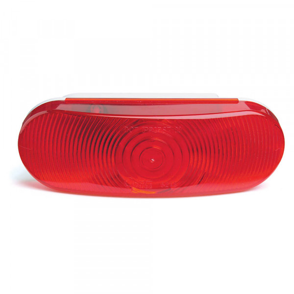 economy oval stop tail turn light red