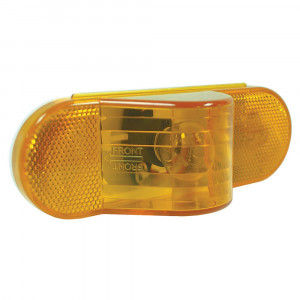 economy oval side turn marker light yellow