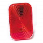 rectangular stop tail turn light double contact red thumbnail