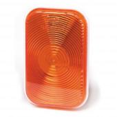 rectangular stop tail turn light park double contact amber
