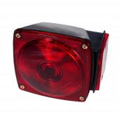 trailer lighting kit rh stop tail turn red