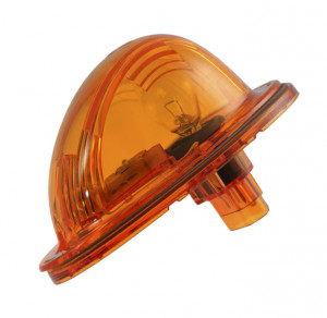 led hybrid side turn marker light yellow