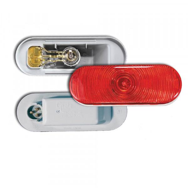 Torsion Mount® III Bremslicht/Schlussleuchte/Blinker, oval, Rot