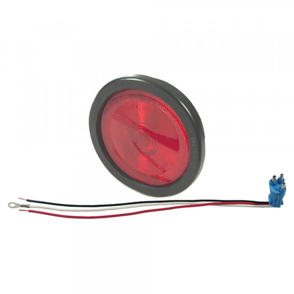 """torsion mount II 4"""" stop tail turn built in reflector red kit"""