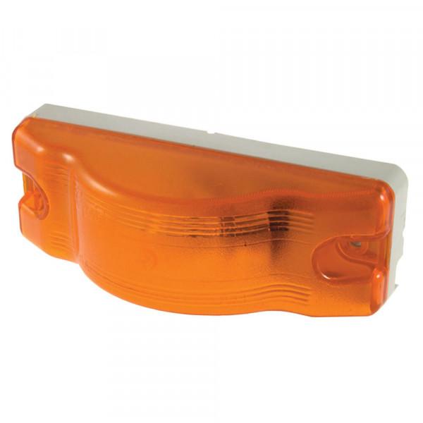 sentry sealed marker side turn light white base amber