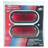 oval trailer stop tail turn submersible lighting kit retail red thumbnail