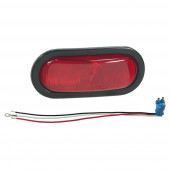 Economy Oval Stop Tail Turn Light red kit thumbnail