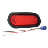 supernova oval led stop tail turn red kit