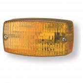 rectangular surface mount turn light yellow