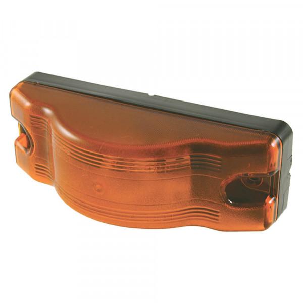 sentry sealed marker side turn light black base amber