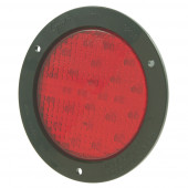 "4"" LED Stop Tail Turn Light with Black Theft-Resistant Flange"