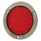 "4"" LED Stop Tail Turn Light with Theft-Resistant Flange"