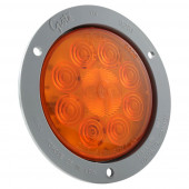 "4"" 10-Diode Pattern LED Auxiliary Turn Light"