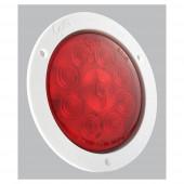 """SuperNova® 4"""" LED-Bremslichter/Schlussleuchten/Blinker mit 10-Dioden-Muster, Weiß"""