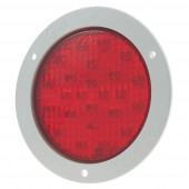 LED Stop Tail Turn Light with Whte Theft-Resistant Flange