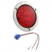 """SuperNova® 4"""" LED-Bremslichter/Schlussleuchten/Blinker mit 10-Dioden-Muster, Rotes Kit"""