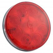 "SuperNova® 4"" 10-Diode Pattern LED Stop tail Turn Light with Grommet Mount thumbnail"