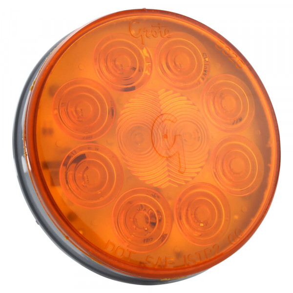Yellow LED Stop Tail Turn Light With Hard Shell Connector.