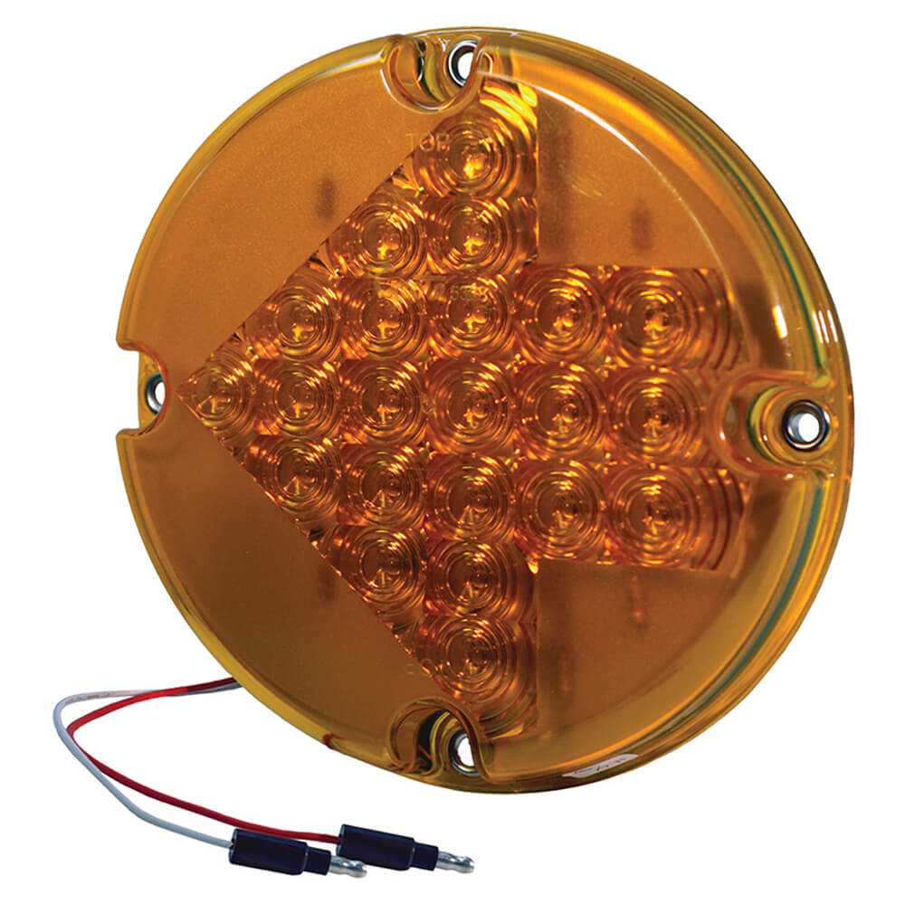 7 led arroe turn light yellow