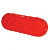 Red -Diode Oval LED Stop Tail Turn Light thumbnail
