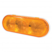 SuperNova® Amber Oval LED Stop Tail Turn Light.