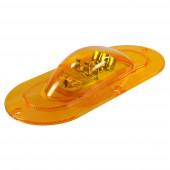Grote 54203 - SuperNova® Oval LED Side Turn Marker Light
