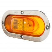 SuperNova® Oval LED Side Turn Marker Light with Theft-Resistant Flange